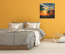 Load image into Gallery viewer, Stunning Tropical Sunset | Canvas Print