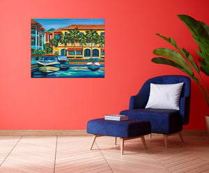 Tropical Rendezvous II | Canvas Print