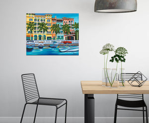Tropical Rendezvous I | Print Canvas