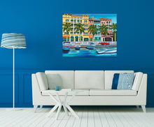 Load image into Gallery viewer, Tropical Rendezvous I | Original Acrylic Painting
