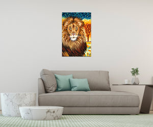 Wild Lion | Canvas Print