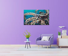 Load image into Gallery viewer, Wild Octopus | Canvas Print