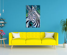 Load image into Gallery viewer, Wild Zebra | Original Acrylic Painting