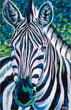 Load image into Gallery viewer, Wild Zebra | Canvas Print