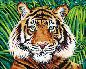 Wild Tiger | Canvas Print
