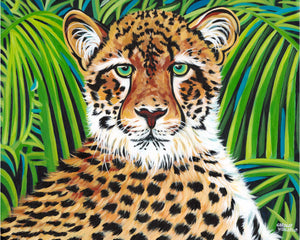 Wild Cheetah | Canvas Print