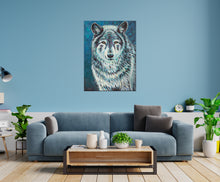 Load image into Gallery viewer, Wolf Spirit Animal | Canvas Print