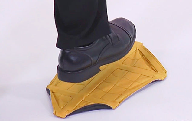 US Reusable Step In Sock Hands Free Shoe Covers Shoe Boot Cover Durable Portable