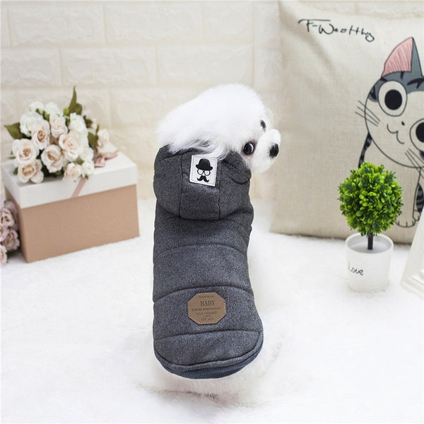 High Quality Pets Dog Clothes Cotton Winter Thicken Jacket Coat Costumes Hoodies Clothes for Small Puppy Dogs Cat Clothing New