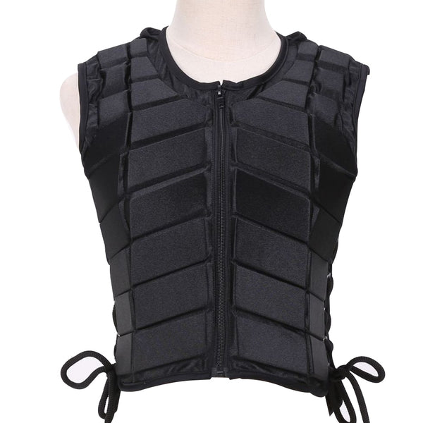 Unisex Vest Body Protective Sports EVA Padded Equestrian Horse Riding Outdoor Accessory Damping Safety Eventer Children Armor