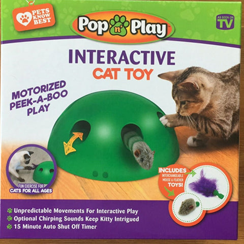 POP N PLAY Cat Toy Funny Cat Toy Cat Scratching Device Cat Scratching Post Toys Material pop play cat toy for Cats Sharpen Claw