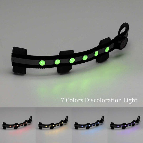 LED Horse Riding Head Harness Colorful Lighting Equestrian Equipment Luminous Tubes Straps Saddle Halters Accessories