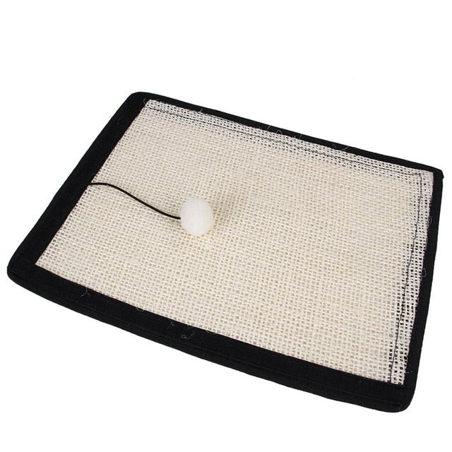 Pet Cat Scratch Guard Mat Sisal Pad Cats Scratching Post Kitten Grinding Claw Scratcher Mat Furniture Sofa Protector Cat Toys