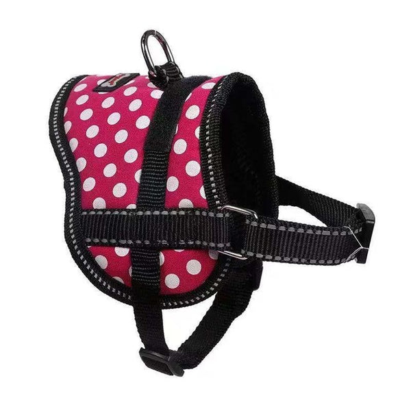 CONG FEE Adjustable Chest Pet Chest Vest Dog Harnesses Pet Collars Pet Chest Back Traction Belt