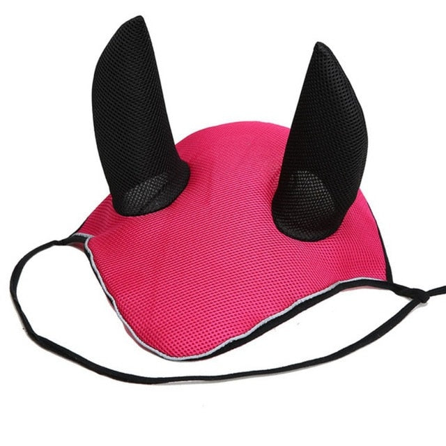 Horse Ear Cover Breathable Reflective Ears Mask Reflector  Accessories Meshed Protector