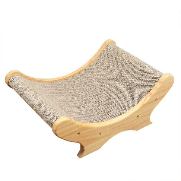 Hot Sale Cat Corrugated Paper Bed Cat Scratch Board Cat Toy Sofa Wearable Easy Clean Corrugated Scratcher Grinding Claw