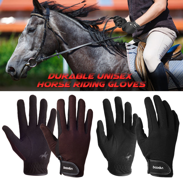 Professional Horse Riding Gloves Equestrian Horseback Riding Gloves Men Women Unisex Baseball Softball Sports Gloves