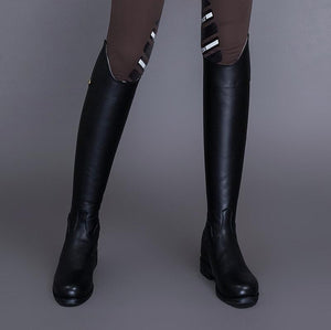 Equestrian Horse leather boots  high boots and tube riding boots high boots Knights equipment