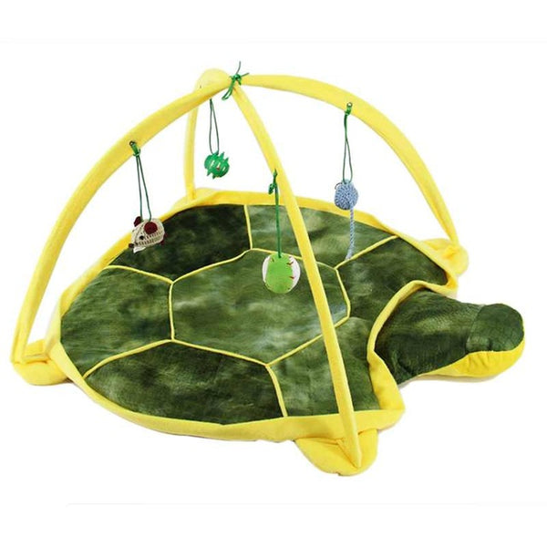 Bed Toys Cat Bed Pad Blanket House Cat Trapping Tortorise Coccinella Septempet Cat Bed Toys Mobile Activity Games