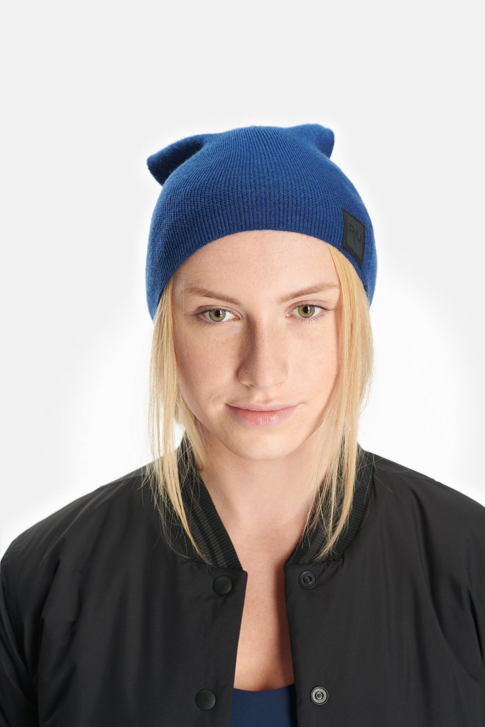 RYU Accessories Slouch Beanie in Ink Blue