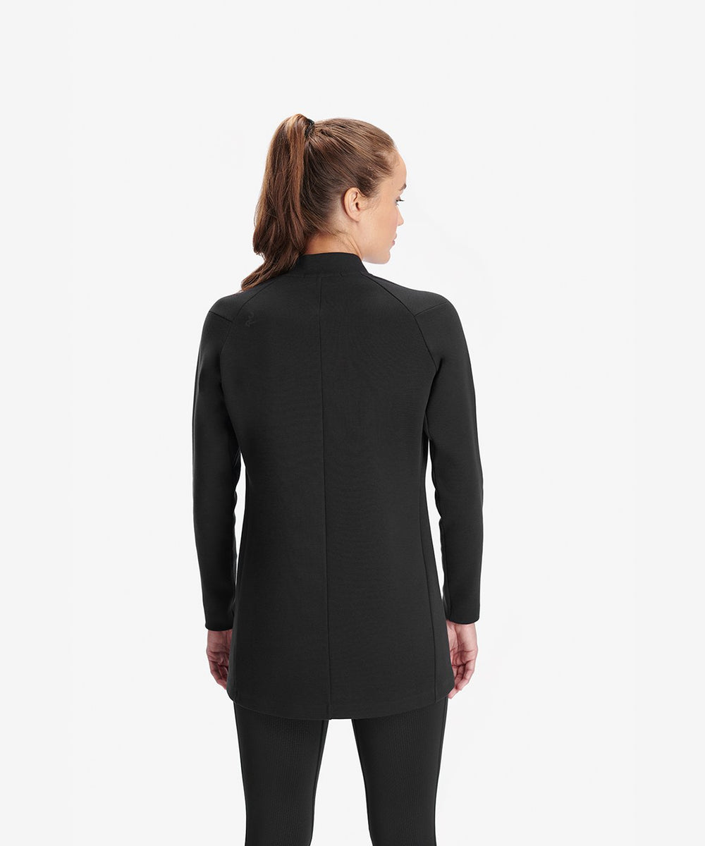 RYU Womens Ethos Long Bomber in Black