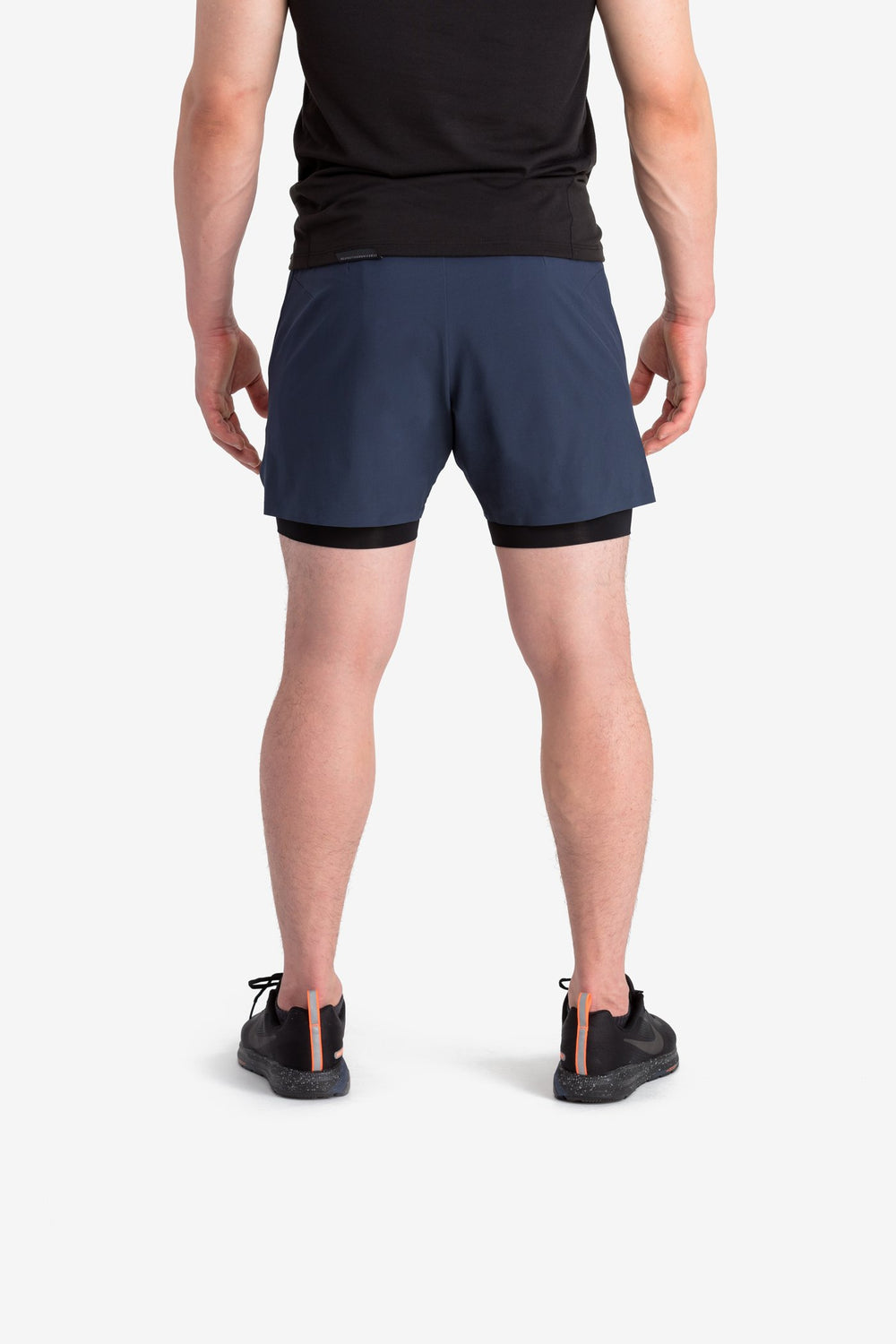 RYU Mens Vector Short in Blackened Navy