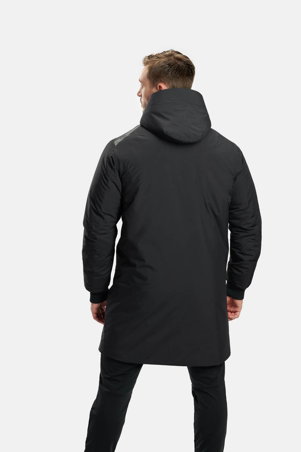 RYU Mens Sideline Parka in Black