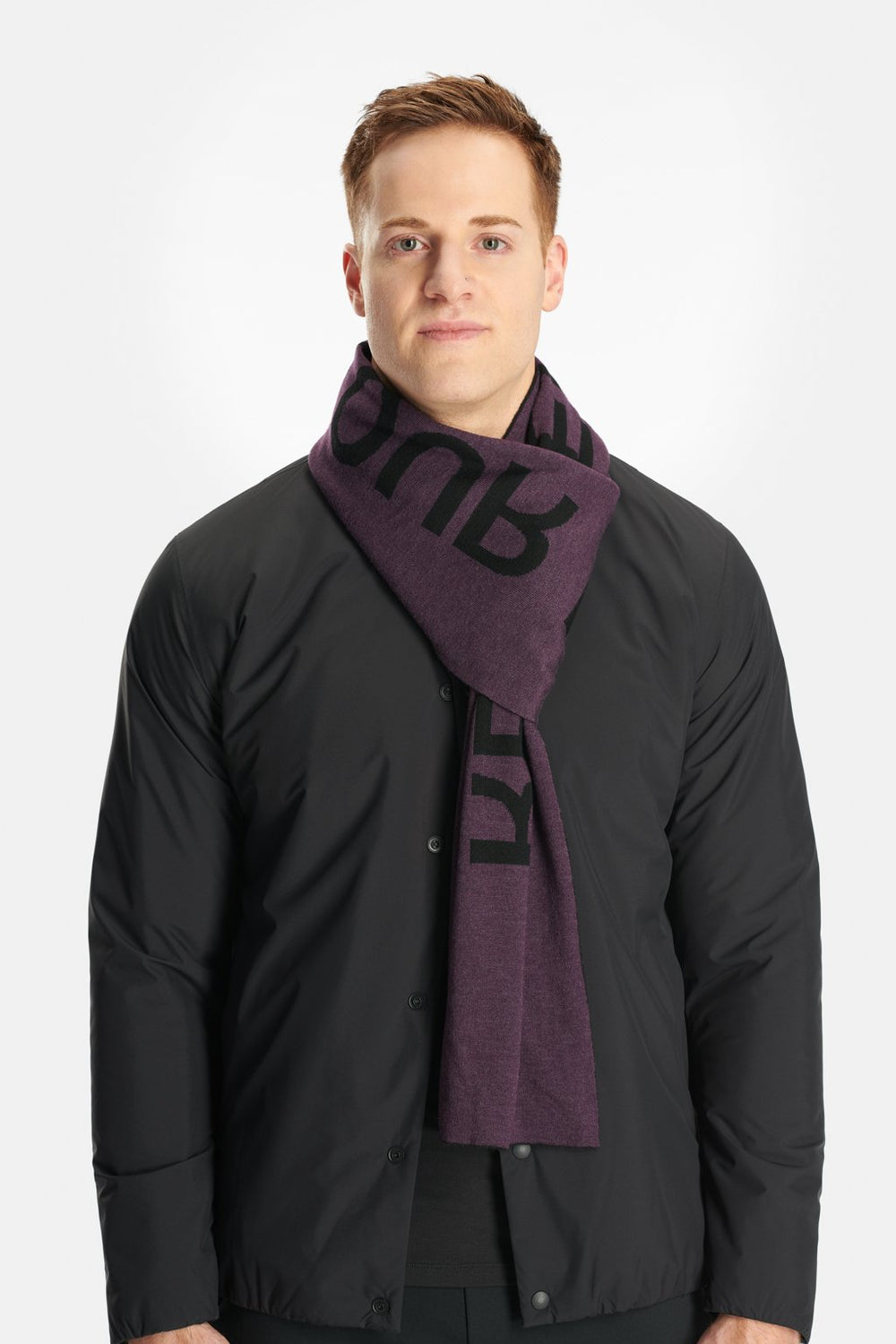 RYU Accessories Respect Scarf in Darkened Arsenic