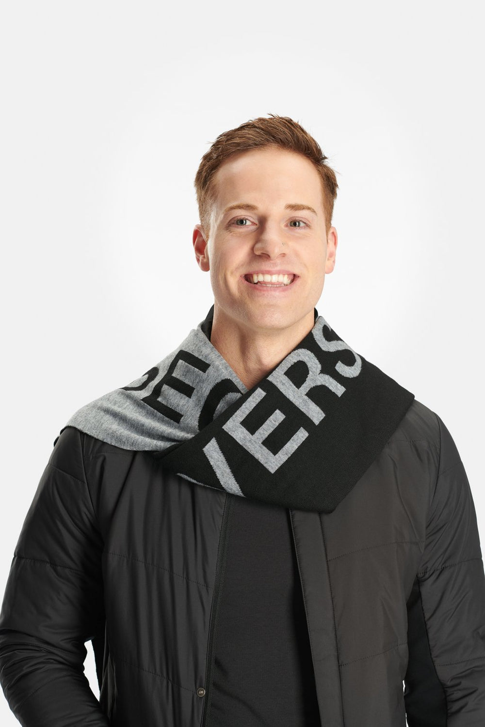 RYU Accessories Respect Scarf in Titanium