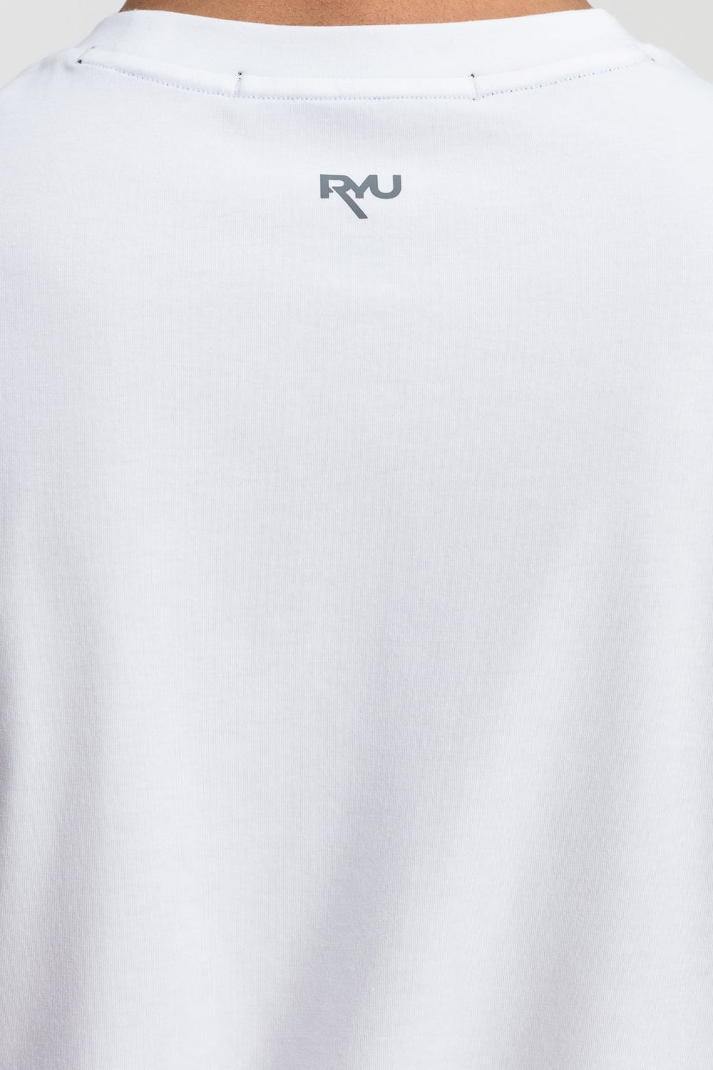 RYU Mens Standard Issue Crew in White