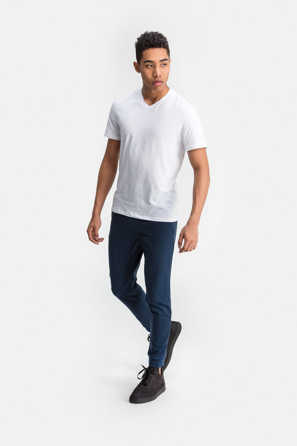 RYU Mens Standard Issue V Neck in White