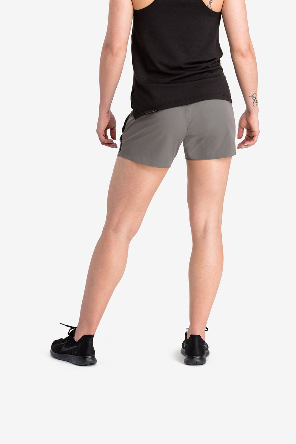 RYU Womens Power Short in Granite