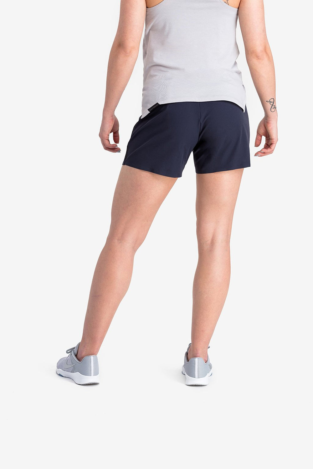RYU Womens Power Short in Blackened Navy