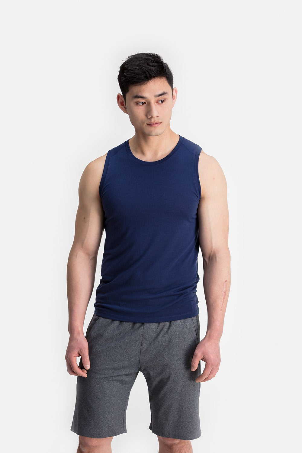 RYU Mens Tech Tank in Deepest Navy