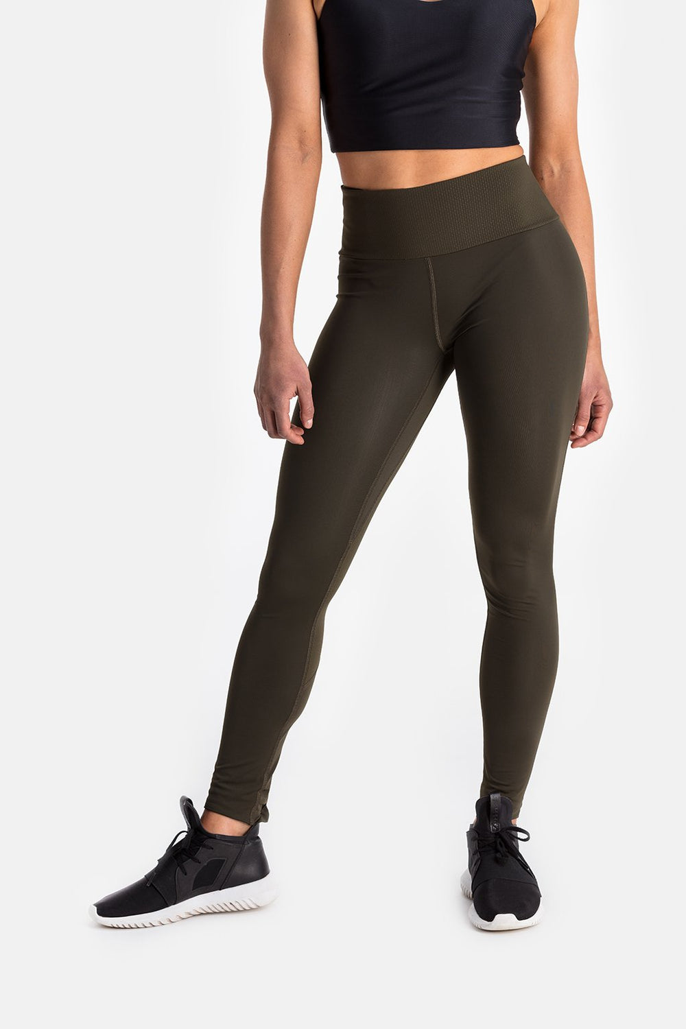 RYU Womens Cardio Tight in Blackened Fatigue