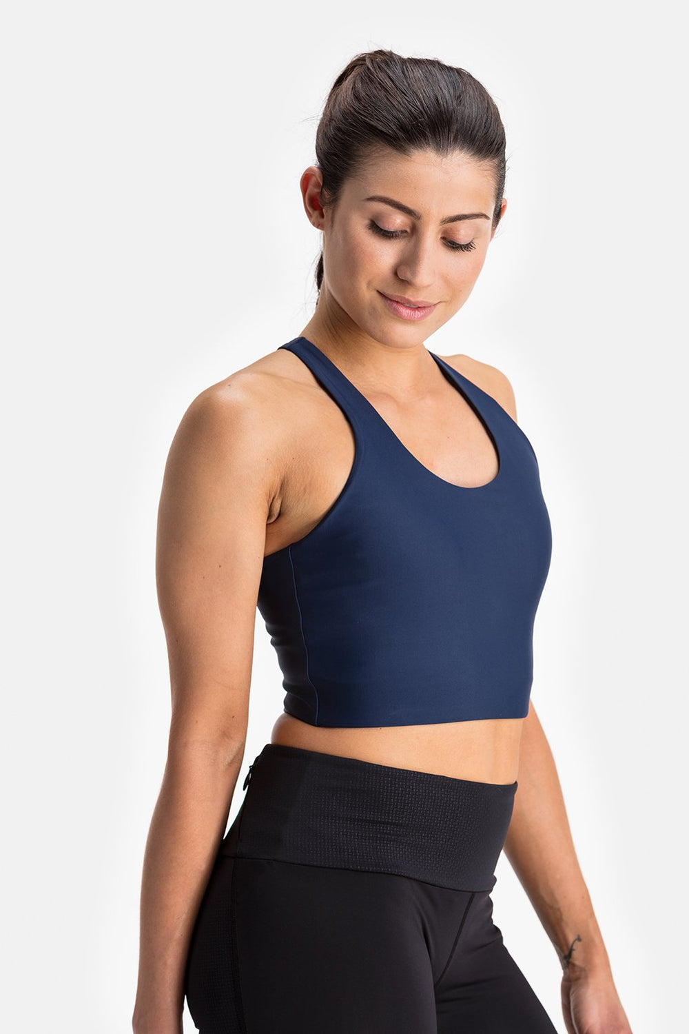 RYU Womens Bra Top in Deepest Navy