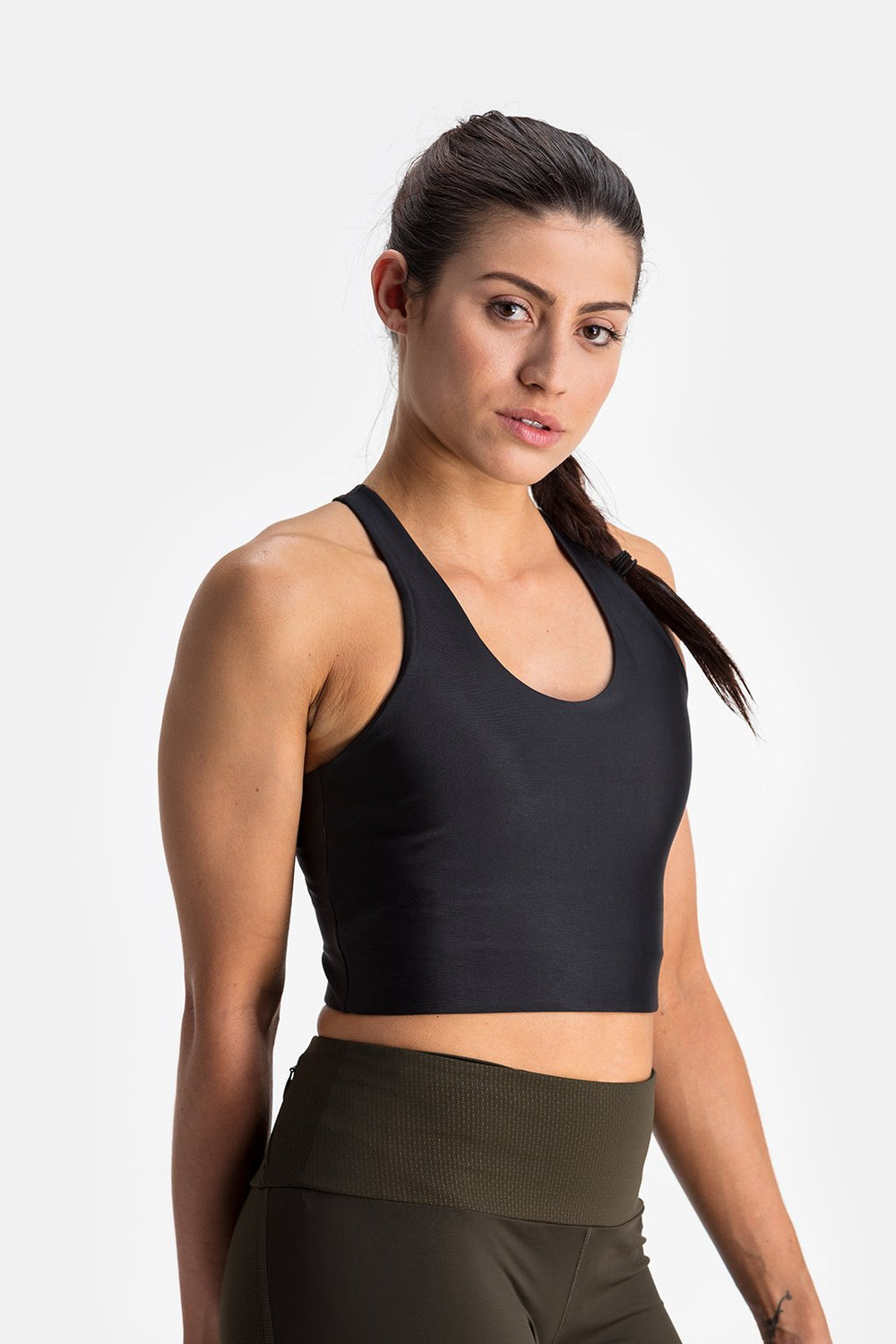 RYU Womens Bra Top in Black