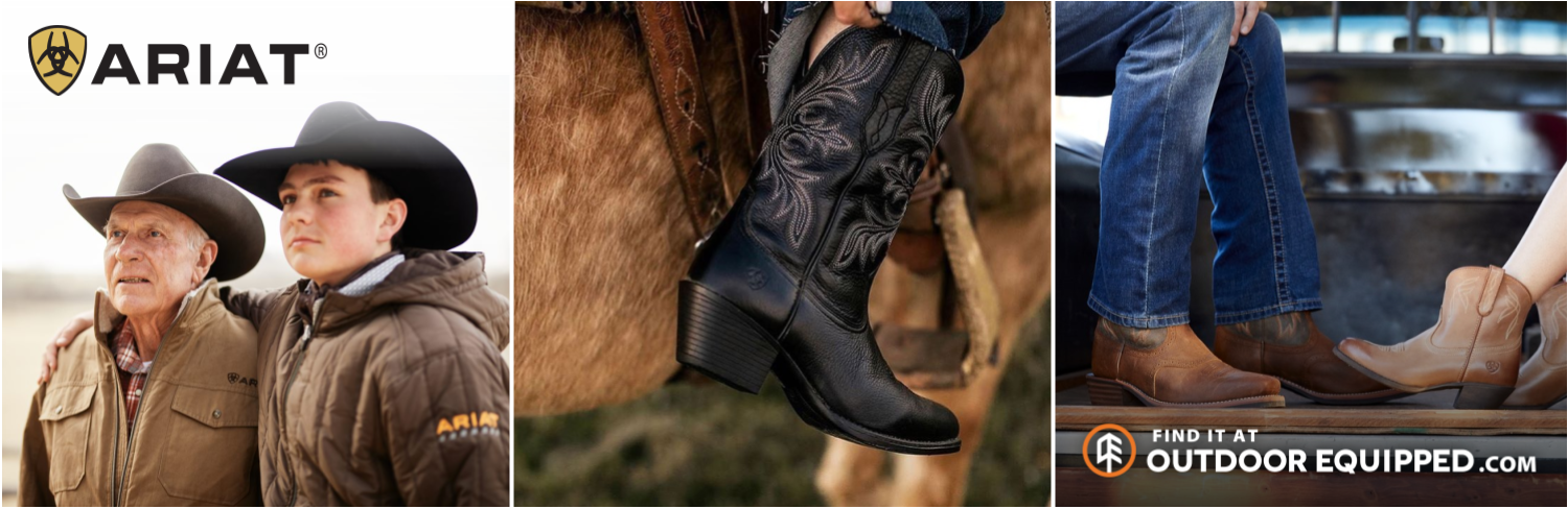 Ariat Boots and Shoes on OutdoorEquipped.com