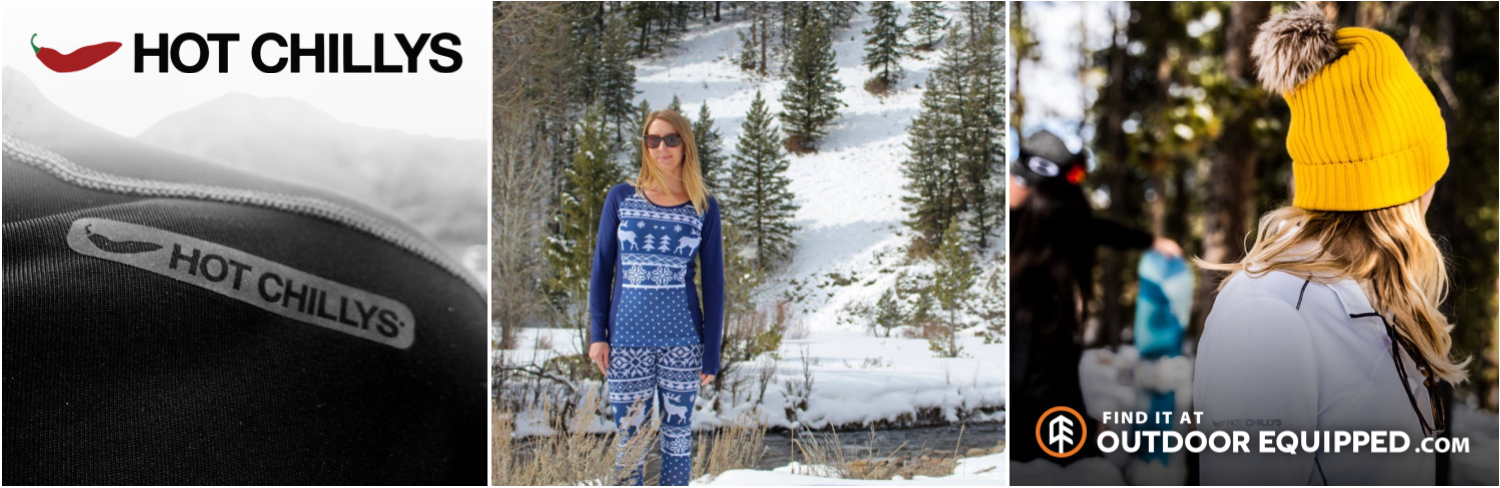Hot Chillys Apparel on OutdoorEquipped.com
