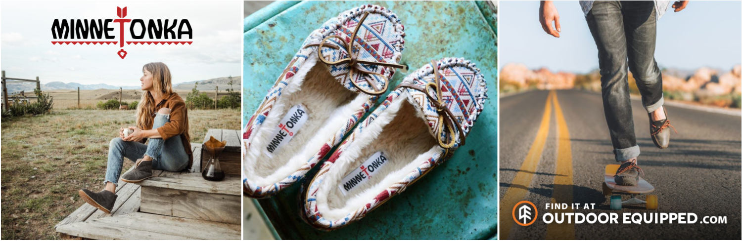 Minnetonka Slippers and Shoes on OutdoorEquipped.com