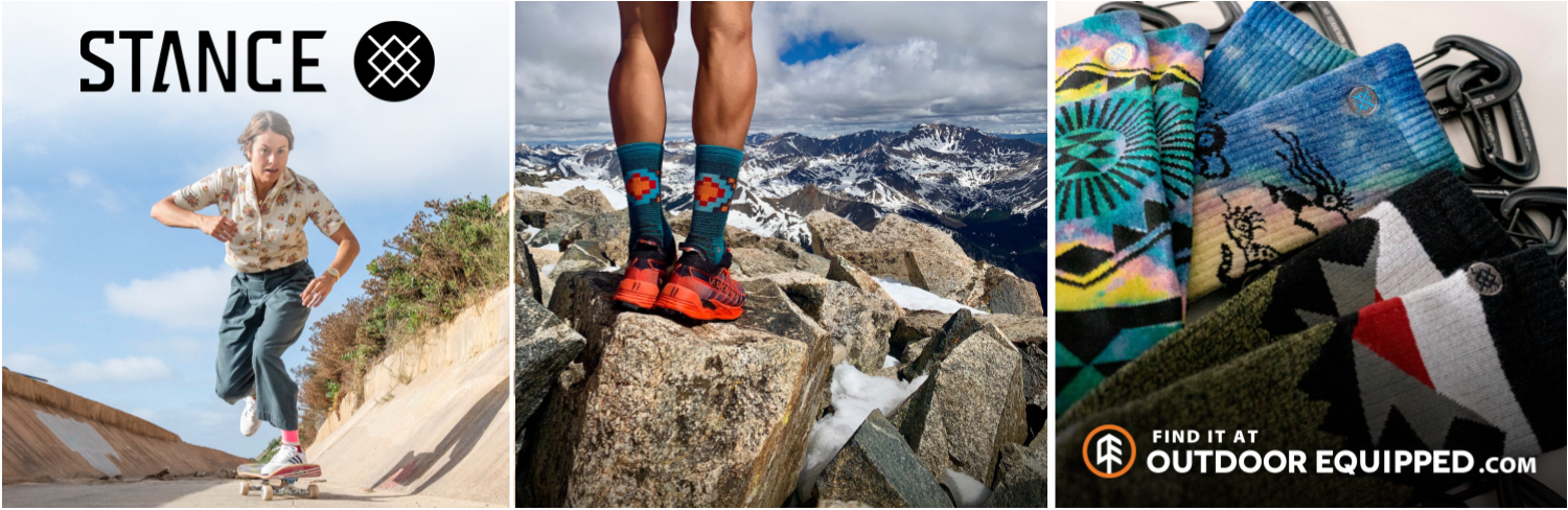 Stance Socks on OutdoorEquipped.com