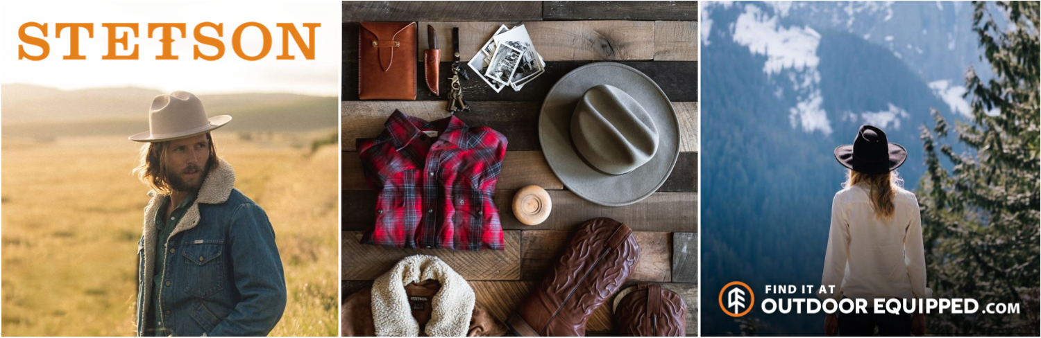 Stetson Apparel on OutdoorEquipped.com
