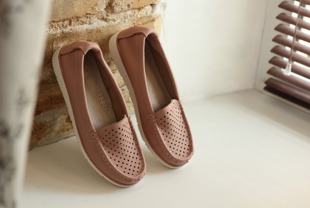 moccasin shoes and slippers