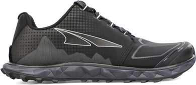 Altra Men's Superior 4.5 Trail Running Shoe in Black Side View