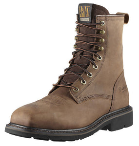 "Ariat Men's Cascade 8"" Wide Square Steel Toe Work Boot"