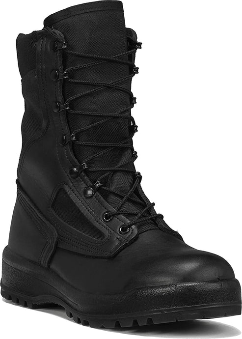 Belleville Men's 390 TROP Hot Weather Combat Boot in Black Side Angle View
