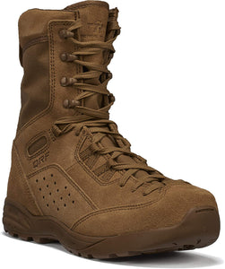 "Tactical Research Men's ALPHA C9 Qrf 9"" Hot Weather Assault Boot in Coyote Side Angle View"