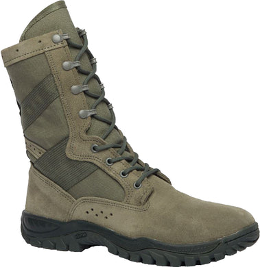 Belleville Men's ONE XERO 620 Ultra Light Assault Boot in Sage Side Angle View