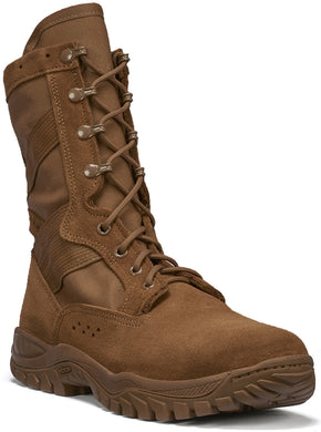 Belleville Men's ONE XERO C320 Ultra Light Assault Boot in Coyote Side Angle View