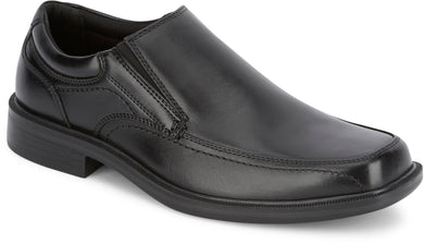 Dockers Men's Edson Dress Loafer Shoe in BLACK from the side